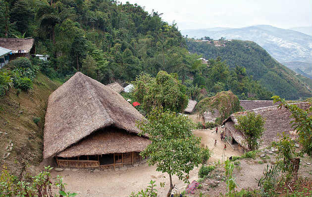 Longwa Villagers of India Enjoy Dual Citizenship of India and Myanmar